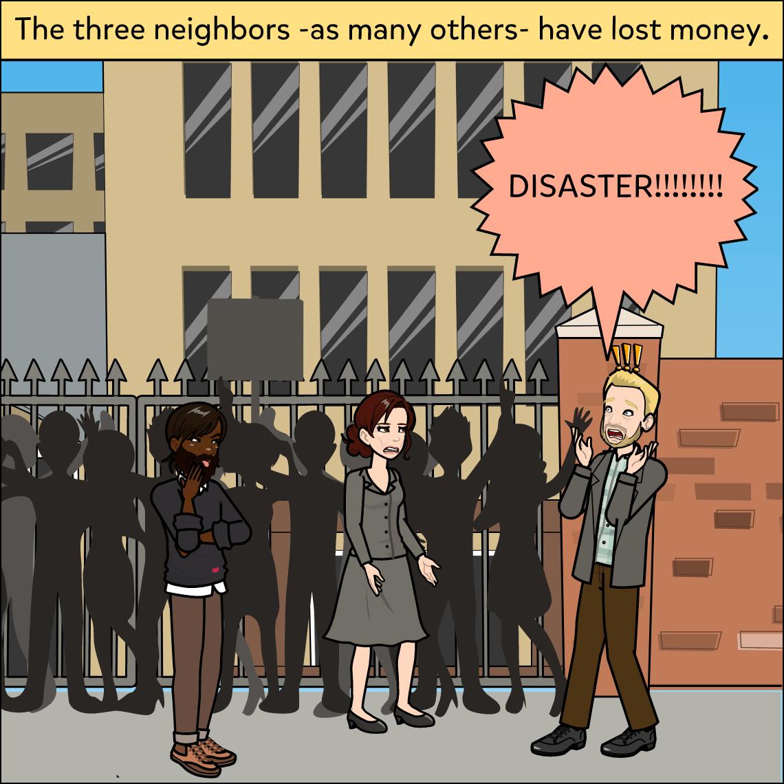 the great depression lesson exemplar comic panel 2