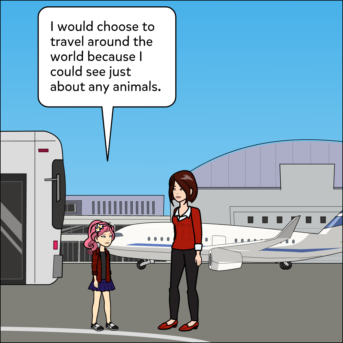 would you rather lesson exemplar comic panel 3
